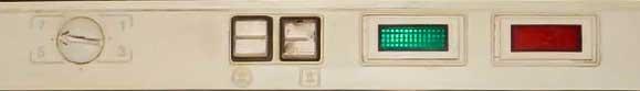 Красный индикатор холодильника Минск