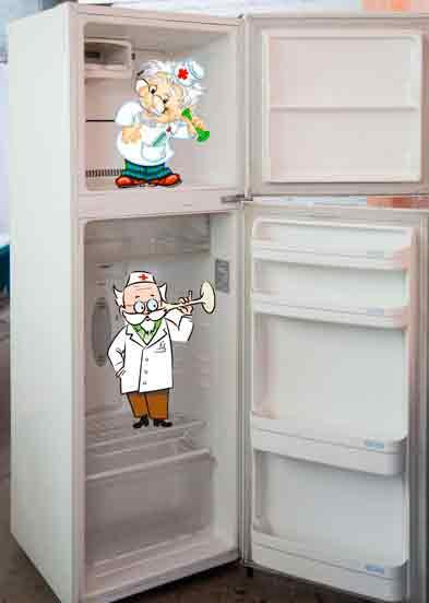 Типичные неисправности холодильников